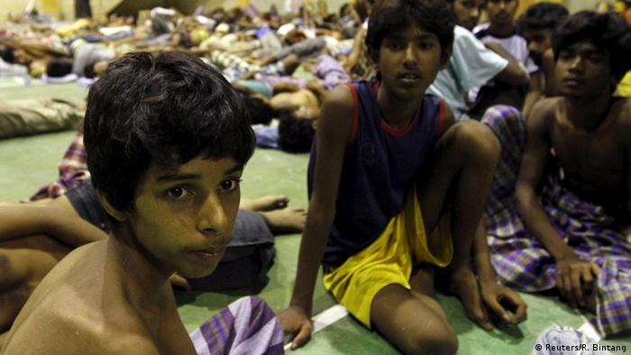Indonesien Rohingya Flüchtlinge aus Myanmar