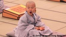 Südkorea Kinder werden zu Mönchen auf Zeit Bildergalerie