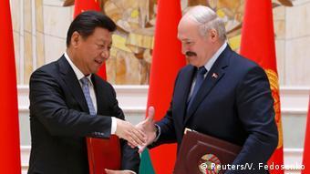Си Цзиньпин и Александр Лукашенко (фото из архива)