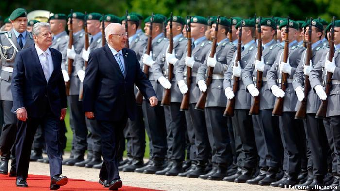 Israeli president Reuven Rivlin kicks off three-day Germany