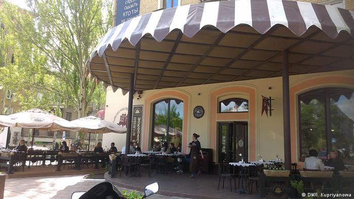 Donezk heute Stalins Café