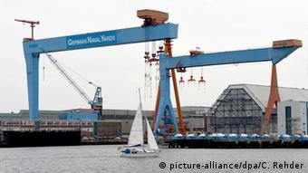 Kiel shipyard (Photo: Carsten Rehder/dpa