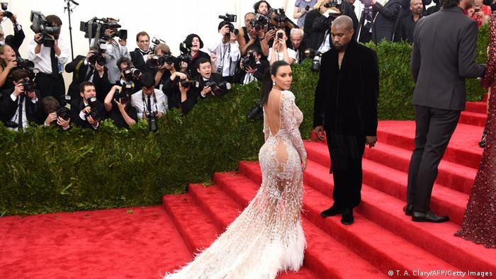 Kim Kardashian and Kanye West in 2015, Copyright: TIMOTHY A. CLARY/AFP/Getty Images
