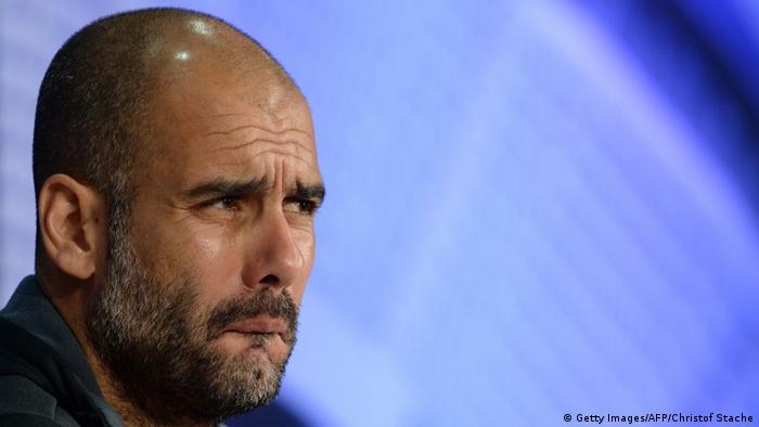PK Bayern München Trainer Josep Guardiola 11.05.2015