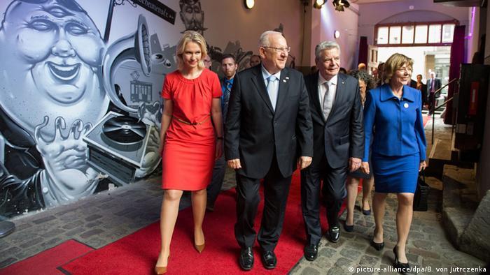 Deutschland Joachim Gauck empfängt Reuven Rivlin