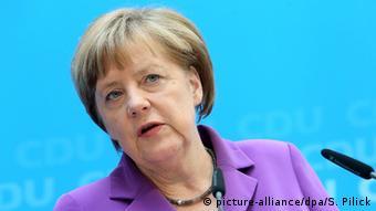 Kansela Angela Merkel wa Ujerumani.