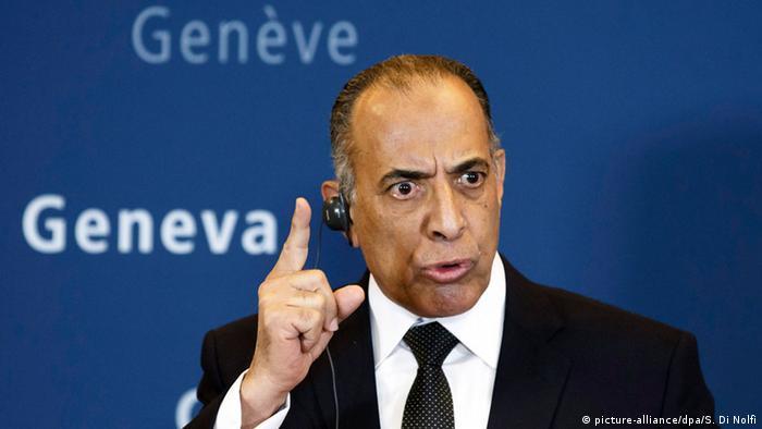 Arabisches Forum in Genf Mahfous Saber Abdelkader