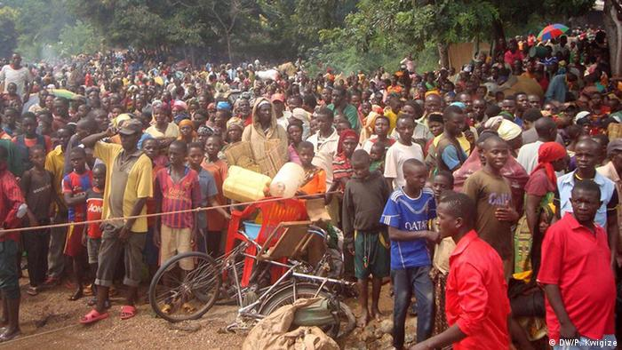 Some among the ten thousand refugees who arrived in Tanzania fleeing violence at home