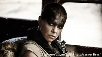 Charlize Theron in a film still from Mad Max: Fury Road, Copyright: Jasin Boland/Warner Bros. Pictures via AP