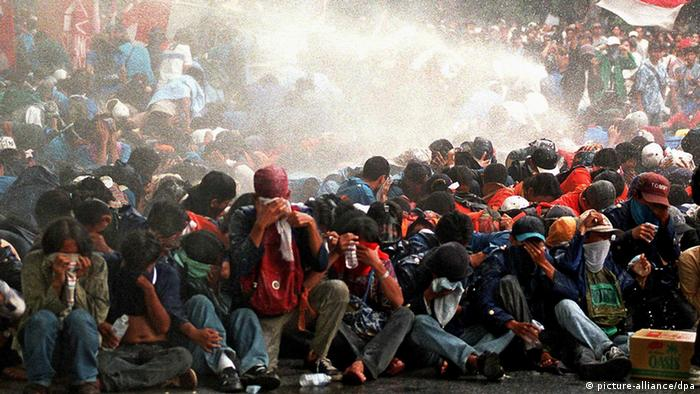 Indonesien Studentenproteste 1998