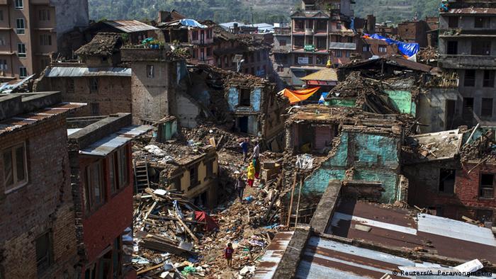 Nepal Kathmandu Erdbeben