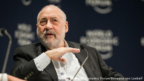 Joseph E. Stiglitz Professor Columbia University (World Economic Forum/Benedikt von Loebell)