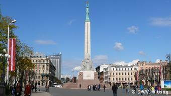 Пам'ятник Свободи Рига, Латвія