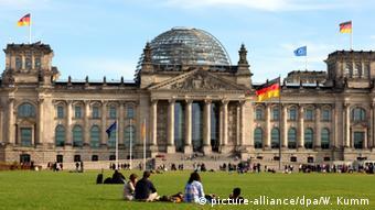 Здание германского бундестага