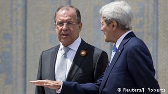 Sergej Lavrov dhe John Kerry