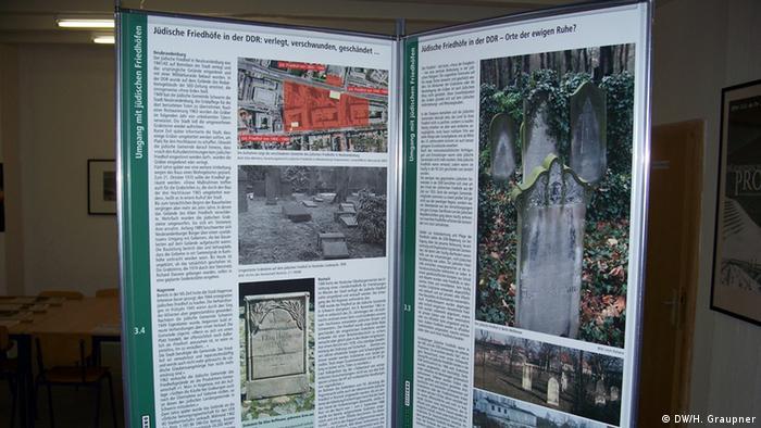 Ausstellung zu Antisemitismus in der DDR (Foto: DW/Graupner)