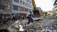 Nepal Kathmandu erneutes Erdbeben Stärke 7.4