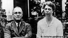 Franklin und Eleanor Roosevelt