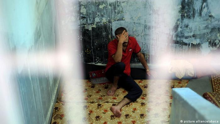 Detainee in Syrian prison