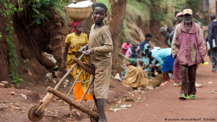 Alltag in Burundi