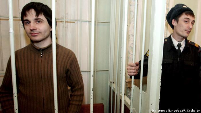 Russland Künstler Leonid Nikolajew im Gefängnis