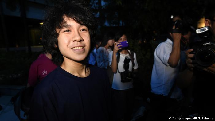 Singapur Blogger Amos Yee (GettyImages/AFP/R.Rahman)