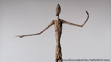 Der zeigende Mann Alberto Giacometti EINSCHRÄNKUNG