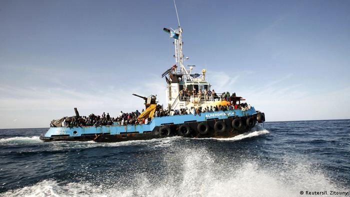 Symbolbild Flüchtlinge Mittelmeer EU