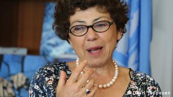 UNCCD Monique Barbut Exekutivsekretärin