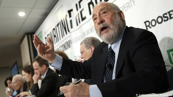 USA Roosevelt Institut PK Joseph Stiglitz (Getty Images/Win McNamee)