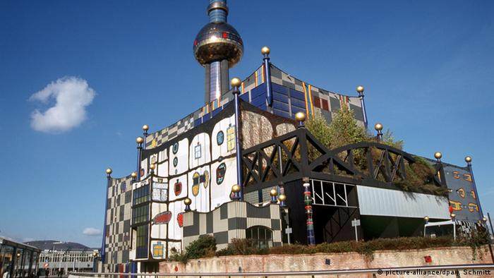 Vienna Friedensreich Hundertwasser waste incineration plant (picture-alliance/dpa/J. Schmitt)