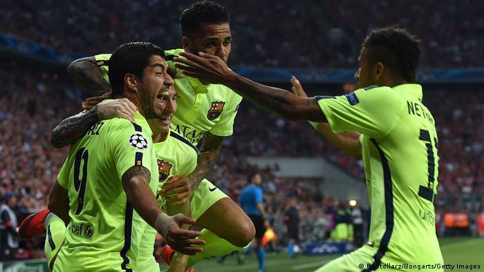 Championsleague Halbfinale 2015 Bayern München gegen FC Barcelona