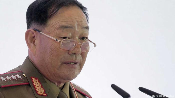 North Korean Defense Minister Hyon Yong Chol (picture-alliance/dpa)