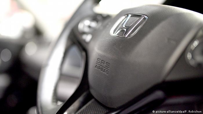 Honda SRS air bag from Takata