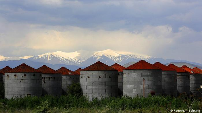 Griechenland - Fabrikruinen (Foto: REUTERS/Yannis Behrakis )