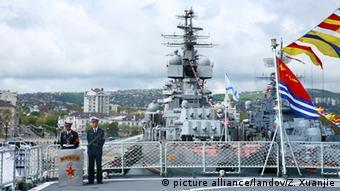 China Russland gemeinsame Manöver im Schwarzen Meer