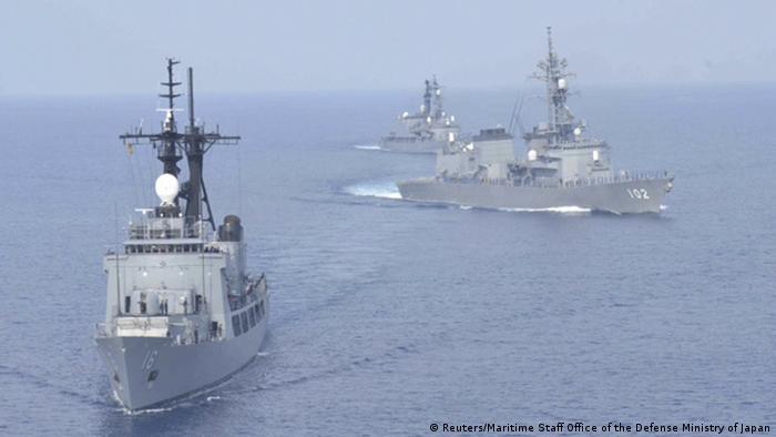 Japan Philippinen gemeinsame Manöver im Südchinesischen Meer