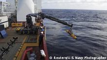 Symbolbild Schiffswrack bei der Suche nach MH370 gefunden