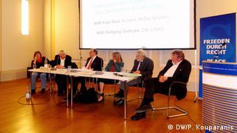 Ημερίδα της οργάνωσης IALANA στο Βερολίνο για τις πιθανότητες επιτυχίας μιας νομικής διεκδήκησης επανορθώσεων
