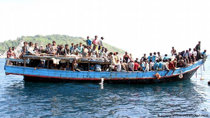 Malaysia Thailand Rohingya Flüchtlinge (picture-alliance/dpa/Y. Pruksarak)