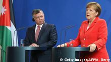 Deutschland Jordanien König Abdullah bei Merkel