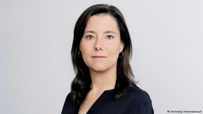 Maja Liebing, de Aministía Internacional, Alemania.