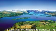 Loch Lomond in Schottland