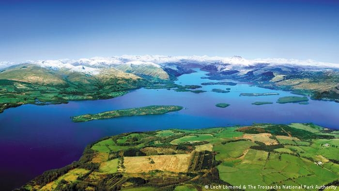 Лох-Ломонд в Шотландии
