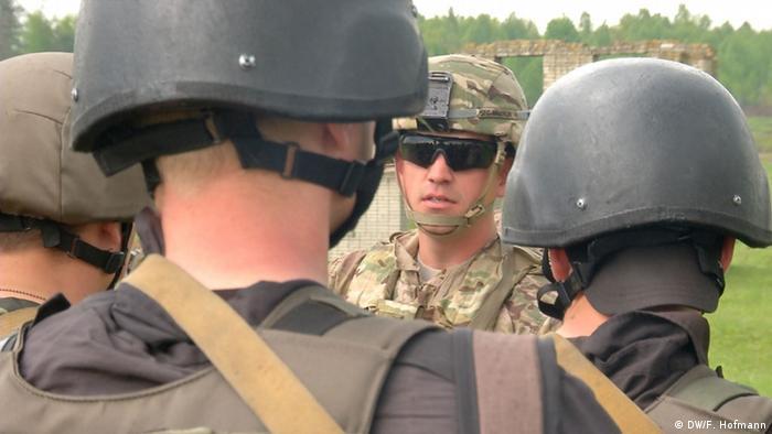 US-Armee bildet Soldaten in der Ukraine aus (Foto: DW - Frank Hoffmann)