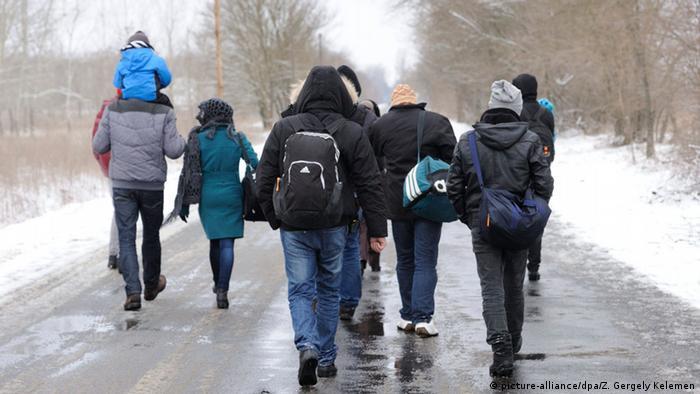 Kosovo-Flüchtlinge in ungarischem Dorf