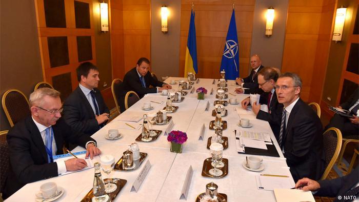 Türkei - NATO Treffen mit dem ukrainischen Aussenminister Pavlo Klimkin