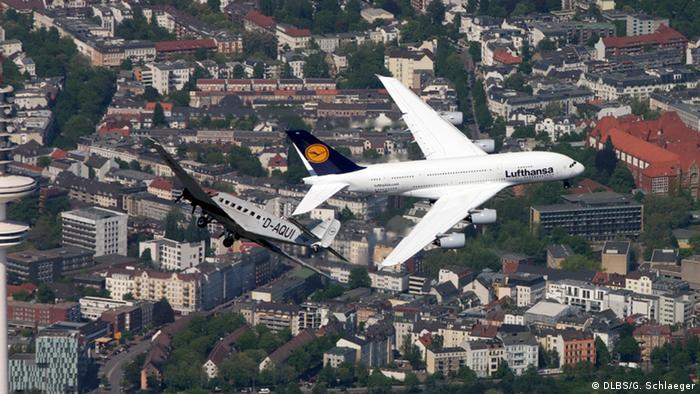 A380 и Junkers Ju 52