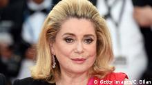 13. Mai 2015 CANNES, FRANCE - MAY 13: Catherine Deneuve attends the opening ceremony and premiere of La Tete Haute (Standing Tall) during the 68th annual Cannes Film Festival on May 13, 2015 in Cannes, France. (Photo by Clemens Bilan/Getty Images)