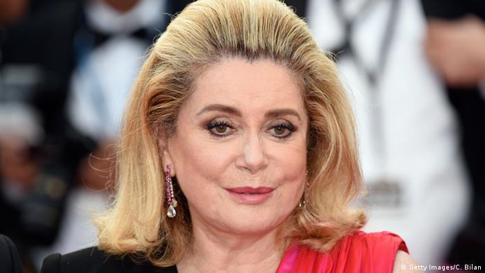 Cannes Eröffnung der Filmfestspiele Catherine Deneuve